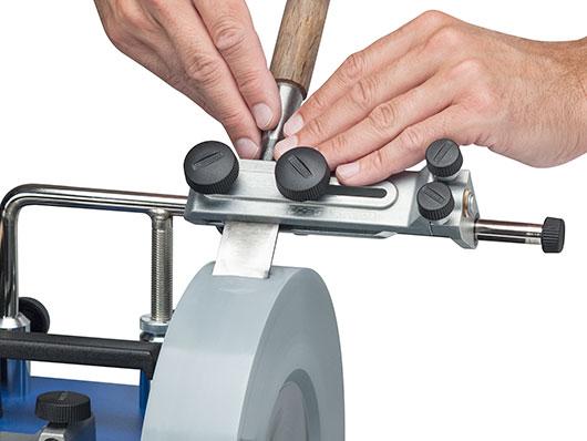 tormek dispositif pour ciseaux bois et tranchants. Black Bedroom Furniture Sets. Home Design Ideas
