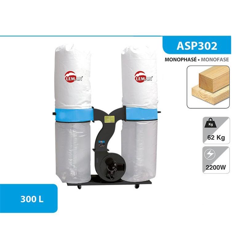 réflexions sur meilleures offres sur comment acheter En promo. Leman - Aspirateur ASP302 (capacité : 2 x 150L) - 2200 W - 3 CV