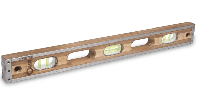 niveau bulle de pr cision en bois crick tool atelier. Black Bedroom Furniture Sets. Home Design Ideas