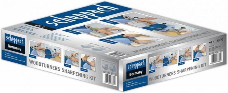 Kit d'accessoires pour l'affûtage des outils de tournage scheppach 7903200001