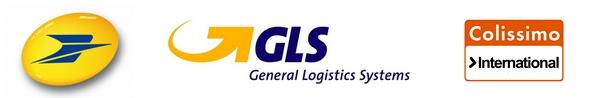 Livraison selon le poids par les services de La Poste - Colissimo - GLS