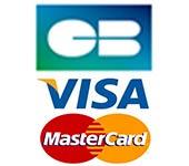 Paiement Carte Bancaire - Visa - MasterCard