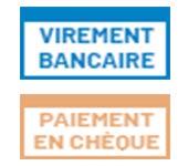 Paiement par Chèque et Virement bancaire