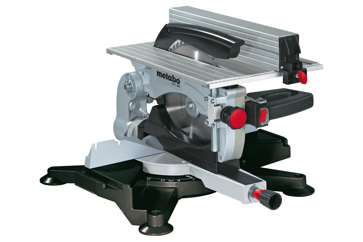 Metabo scie onglet et table reversible kgt 300 1800w - Scie circulaire sur table reversible ...