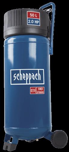 Scheppach compresseur d 39 air hc50v 50l 1500 w scheppach - Compresseur vertical 50l ...