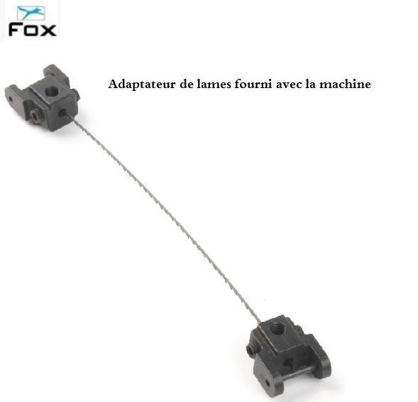 fox - scie à chantourner à vitesse variable 125w